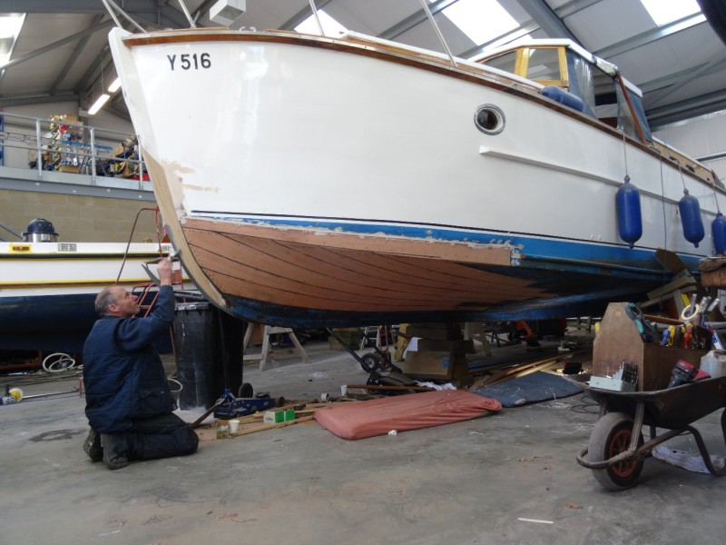 Broom Captain Cruiser Repair