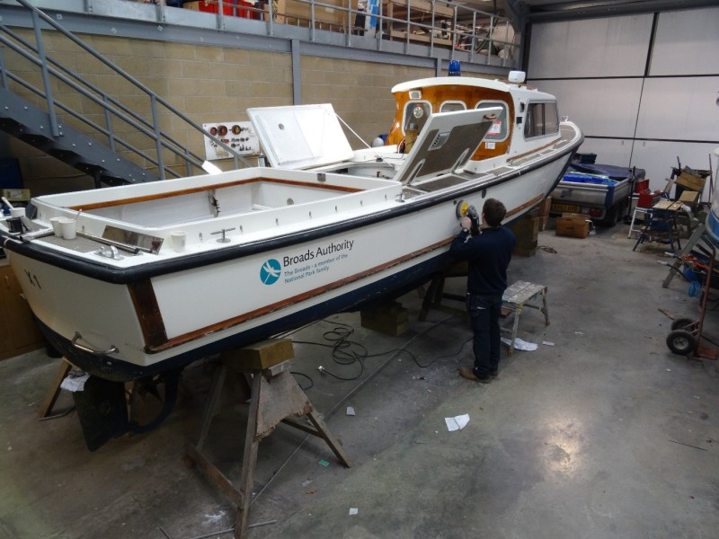 Broads Authority Patrol Launch Maintenance Contract